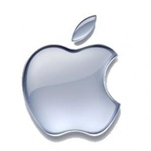 Avant la tablette, le succès financier d'Apple de 2009 ( logo Apple)