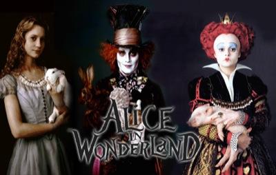 Alice au Pays des Merveilles de Tim Burton