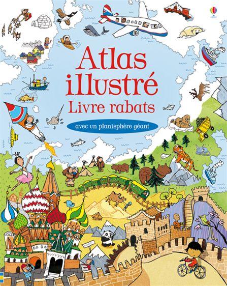 Atlas illustré - Usborne