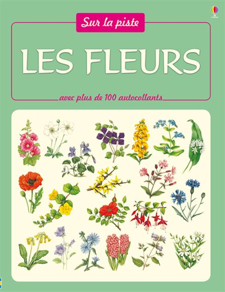 Les fleurs -Usborne