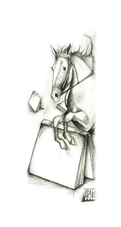 Cheval -livre Arnaud Taeron