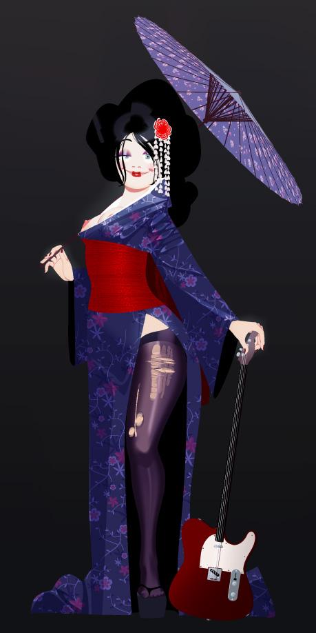 geisha - arthur de pins