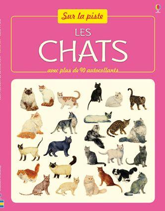 Les chats - sur la piste- Usborne