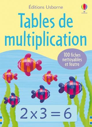 Tables de multiplication -Usborne