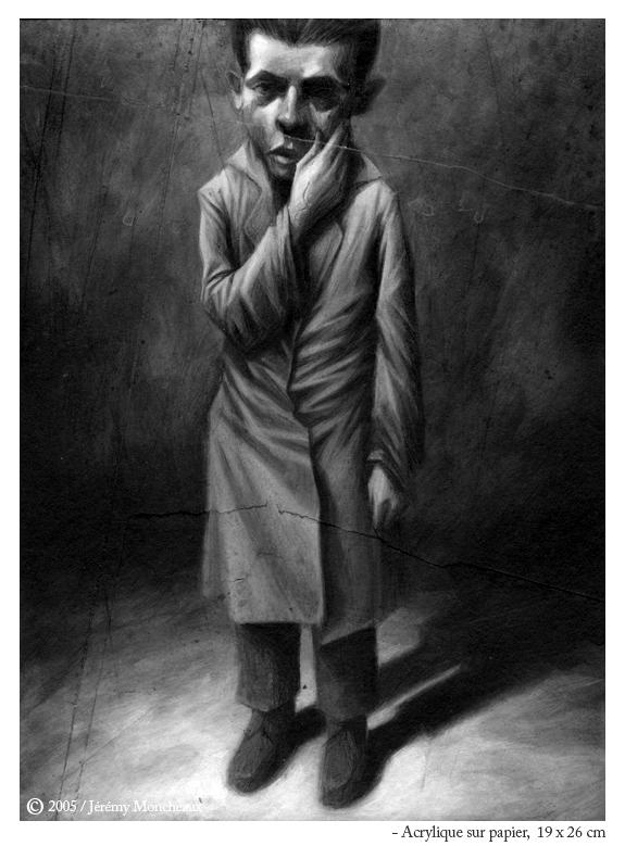 Jérémy Moncheaux - enfant se tenant le visage