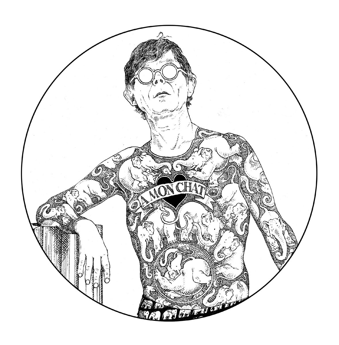 Autoportrait- Gilles Bachelet
