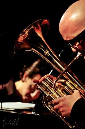 L'If Duo Bruno Angelini/Giovanni Falzone enregistré en concert au Blanc Mesnil