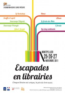 Montpellier : des escapades en librairies
