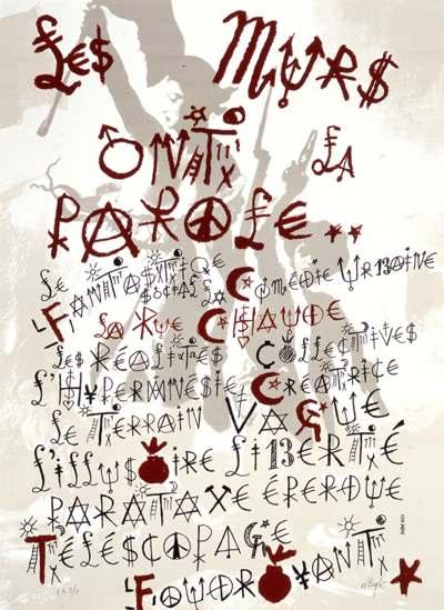 Écrire avec des anonymes : l'alphabet de Jacques Villeglé