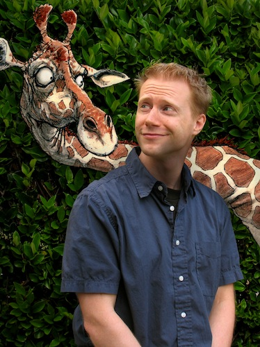 Girafe et Chris Ayers