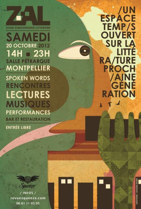 ZAL - édition 2012 à Montpellier - Affiche officielle
