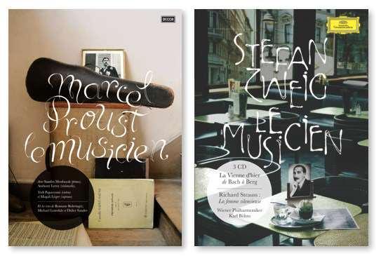 Marcel Proust & Stefan Zweig - La musique classique - Livre CD