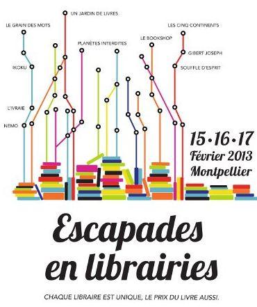 Escapades en librairie