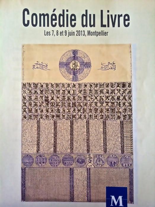 Comédie du livre 2013 - MOntpellier affiche