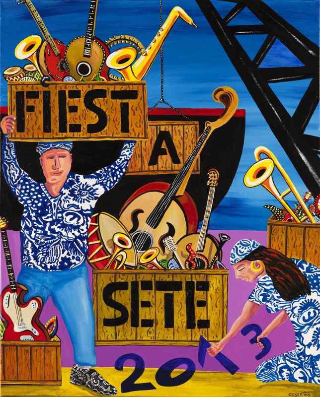 Fiest'a Sète - Affiche Officielle 2013