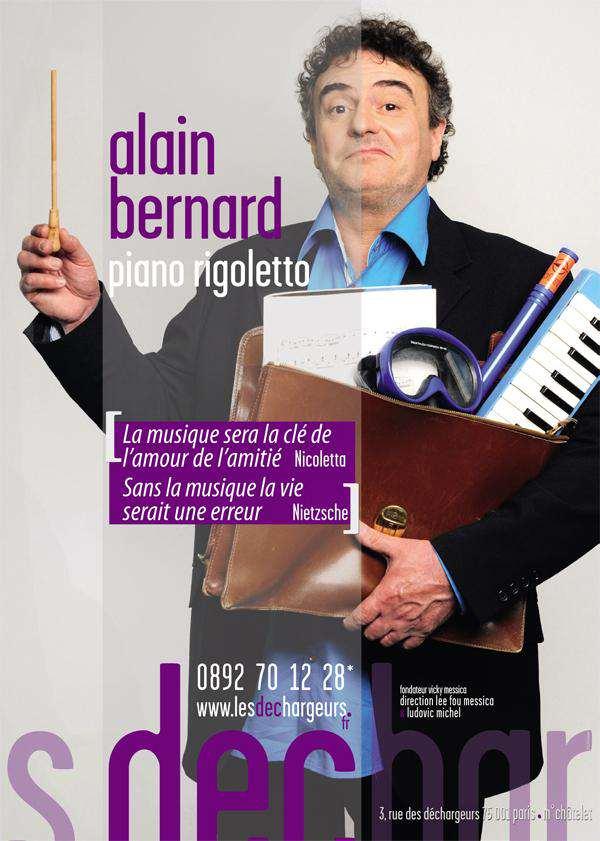 Alain Bernard - théâtre les déchargeur