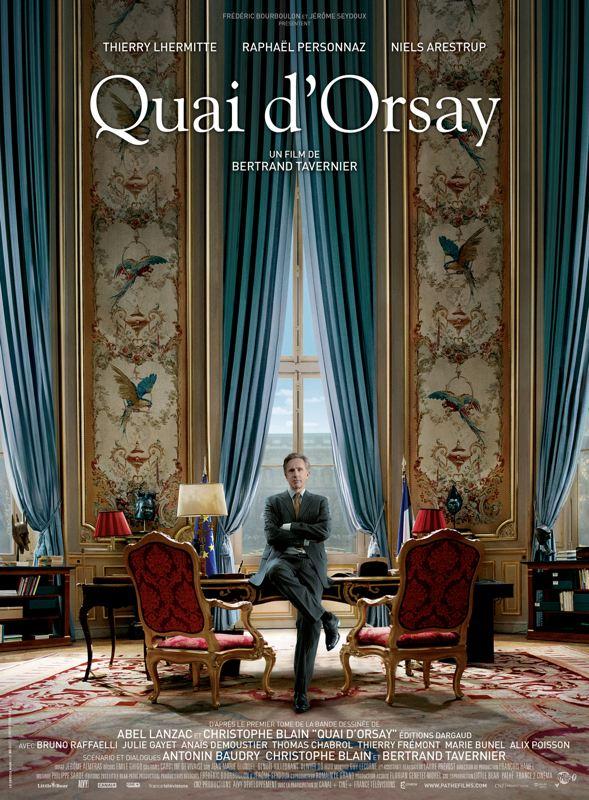 Quai d'Orsay avec Thierre Lermitte, Raphaël Personnaz Julie Gayet