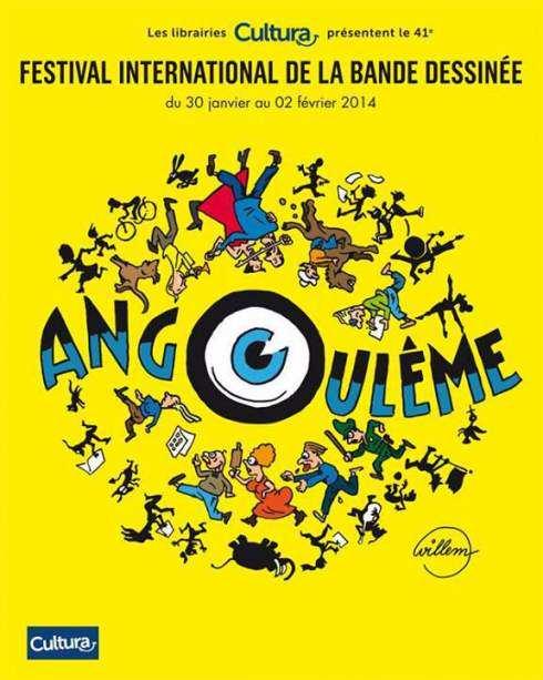 Affiche Angoulême 2014