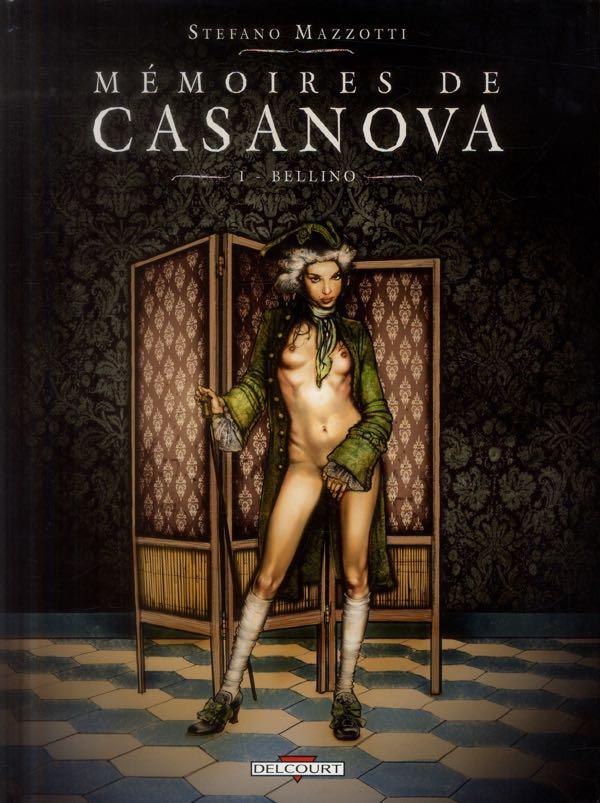 Casanova - Editions Delcourt