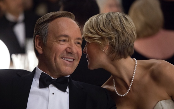 House of Cards - Kevin Spacey, Robin Wright