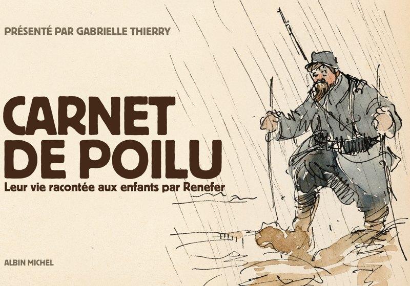 Carnet de poilu - Albin Michel