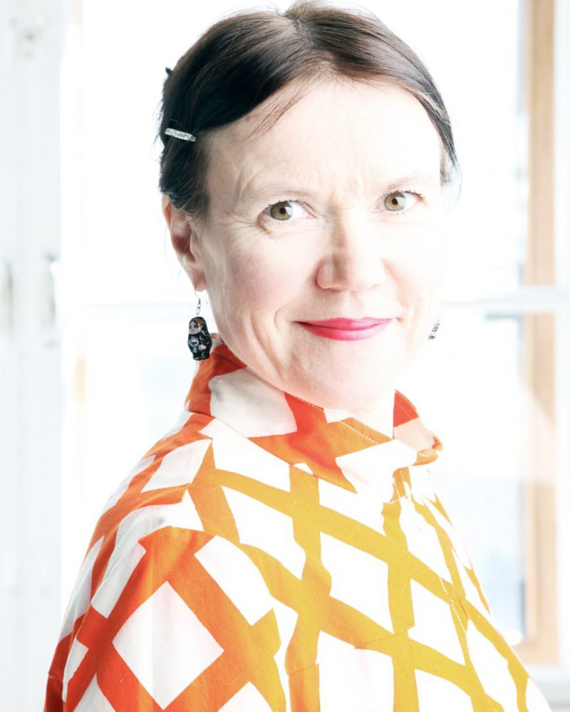 Rosa Liksom - Compartiment N°6 - Gallimard - Interview