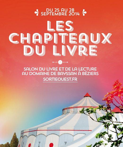 Les Chapiteaux du livre - Septembre 2014