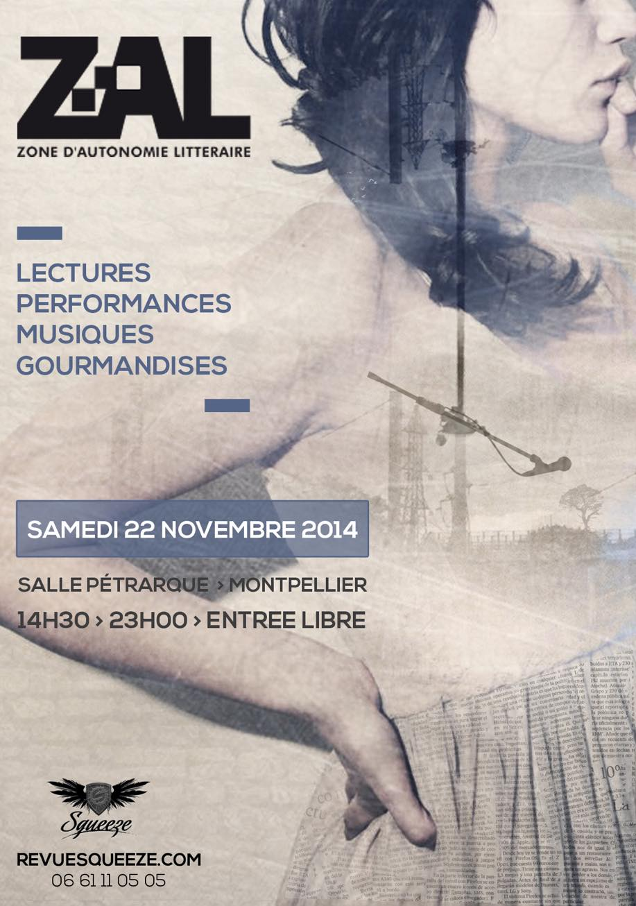 Zone d'autonomie littéraire 2014 - Montpellier