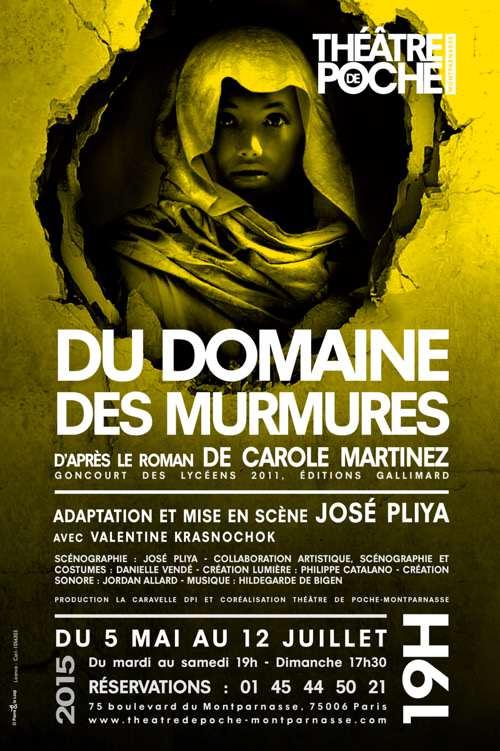Domaines des murmures - Théâtre de Poche