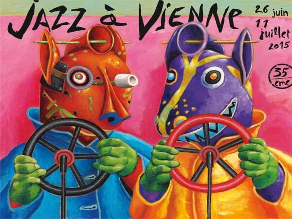 Jazz à Vienne - 2015