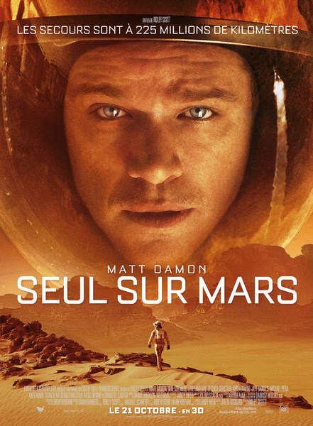 Seul Sur Mars - MAtt Damon