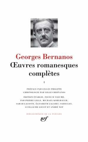 Georges Bernanos - les oeuvres romanesques complètes - la Pléiade