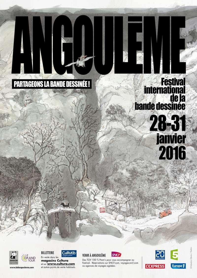 FIBD - Sélection officielle 2016 - Les Fauve d'Or - Angoulême