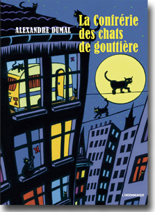 Confrérie des chats de gouttières - Editions l'Insomniaque