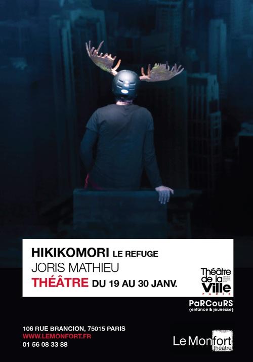 Hikokomori - Théâtre du Monfort