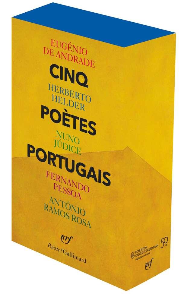 POESIE PORTUGAISE - Cinq poètes portugais - Gallimard/Poésie