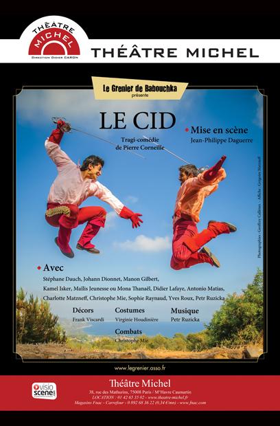 Le Cid Théâtre Michel