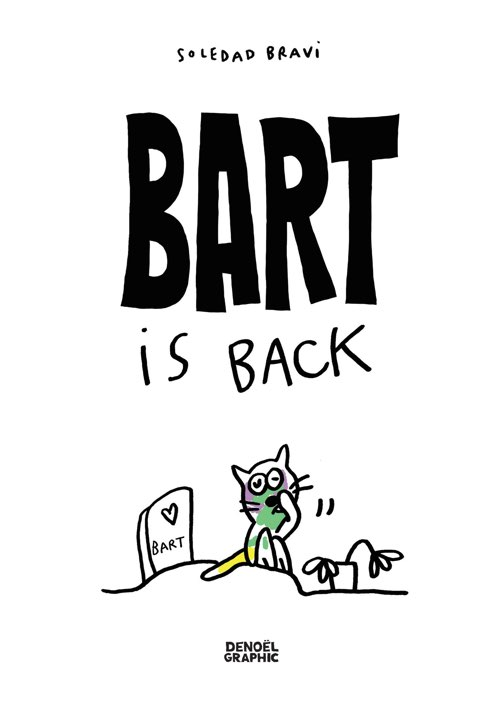BART IS BACK - Denoël Graphic -