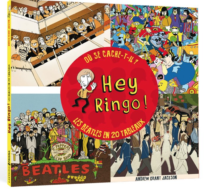 Hey Ringo - The BEATLES - Editions Prisma