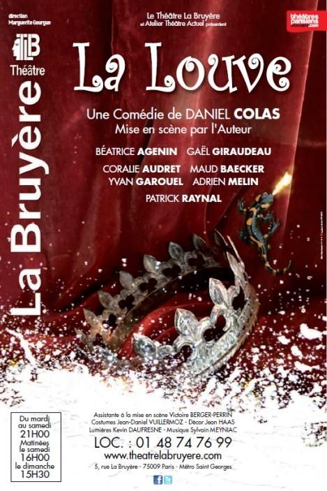 LA LOUVE de Daniel Colas - Théâtre la Bruyère
