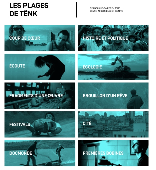 TENK - Documentaires d'auteurs