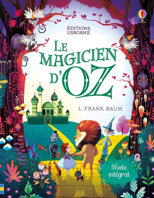 Le Magicien d'Oz de L. Franck Baum aux Éditions Usborne