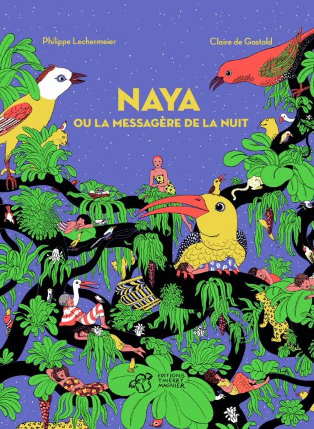 Naya ou la messagère de la nuit de Philippe Lechermeier et Claire de Gastold aux éditions Thierry Magnier