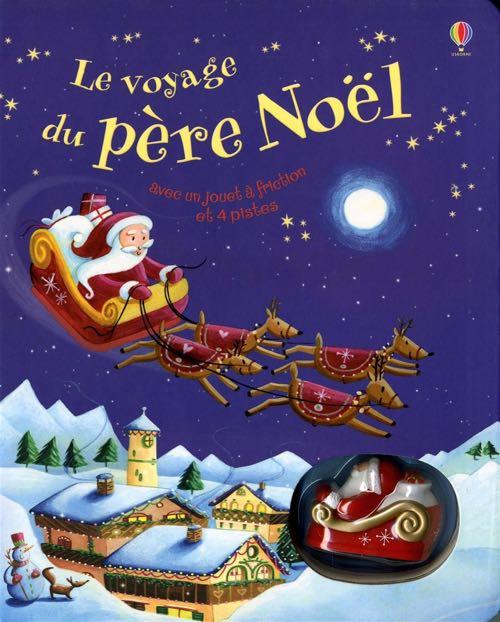 Le voyage du père Noël de Fiona Watt aux éditions Usborne