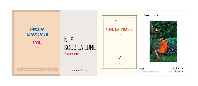 Rentrée littéraire - Janvier 2017