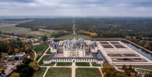 Domaine national de Chambord, 20 mars 2017
