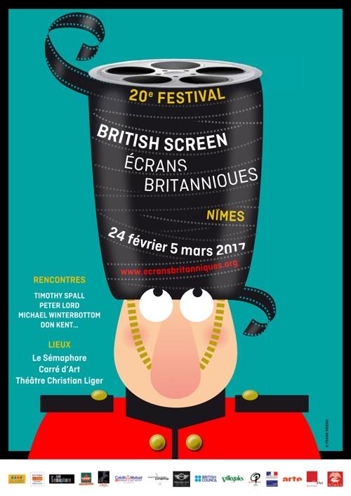 Ecrans britanniques, du 24 février au 5 mars à Nîmes