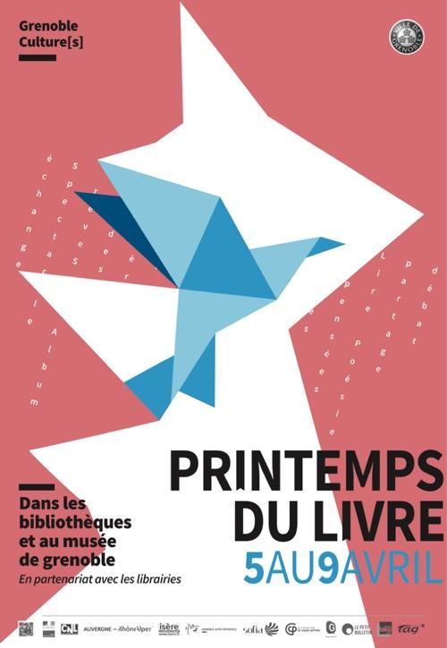 Printemps du livre, du 5 au 9 avril 2017, Grenoble