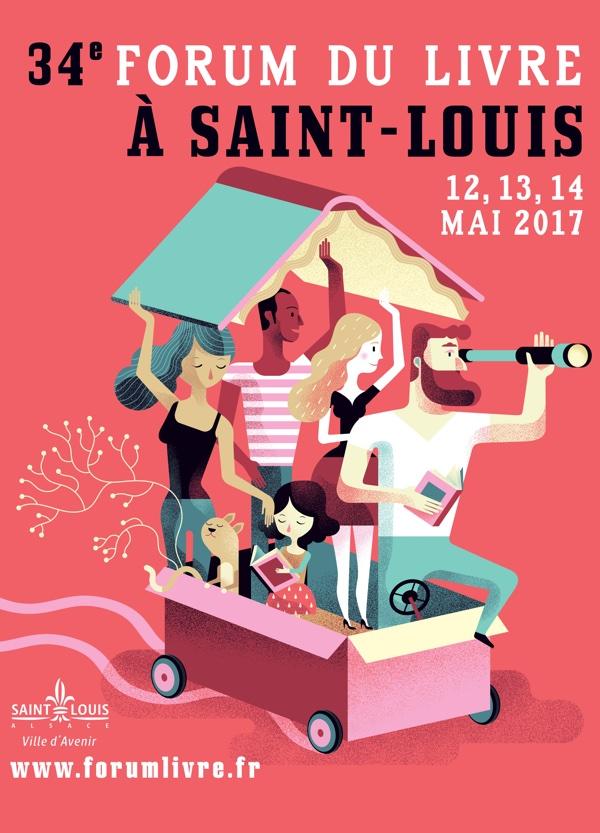 34e Forum du Livre 12, 13, 14 mai 2017, à Saint-Louis