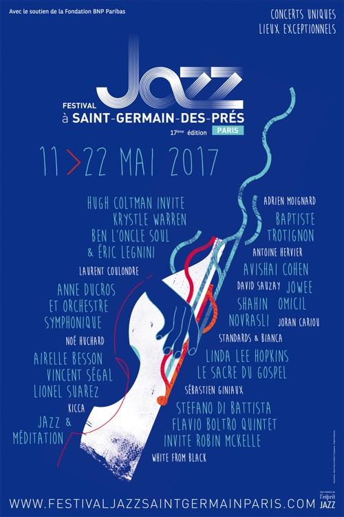 Festival Jazz, du 11 au 22 mai 2017, Saint-Germain-des-Prés